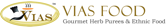Logo VIAS Gourmet Herb Purees and Ethnic